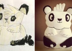 dessins et doudous