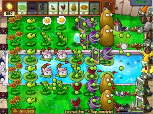 grille plants vs zombies