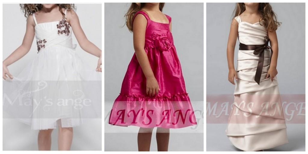 robes de soirée enfant