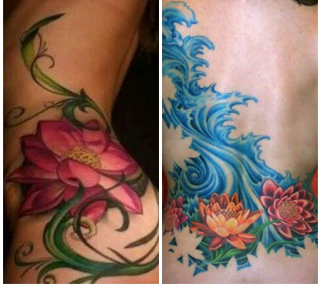 tatouage fleur de lotus signification et mod les. Black Bedroom Furniture Sets. Home Design Ideas
