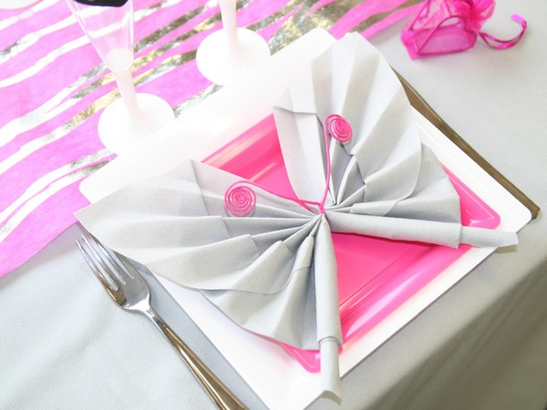 Pliage de serviette papillon comment faire vid o tutoriel Pliage avec 2 serviettes en papier
