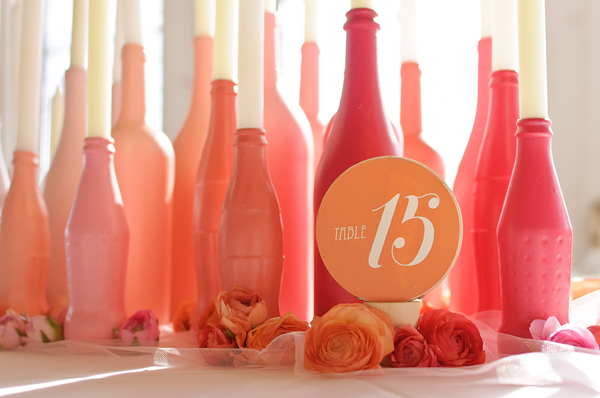 bouteille decoration mariage