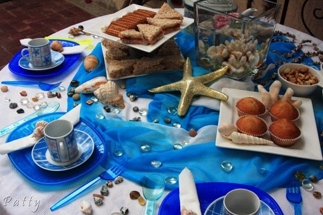 decoration de table marine