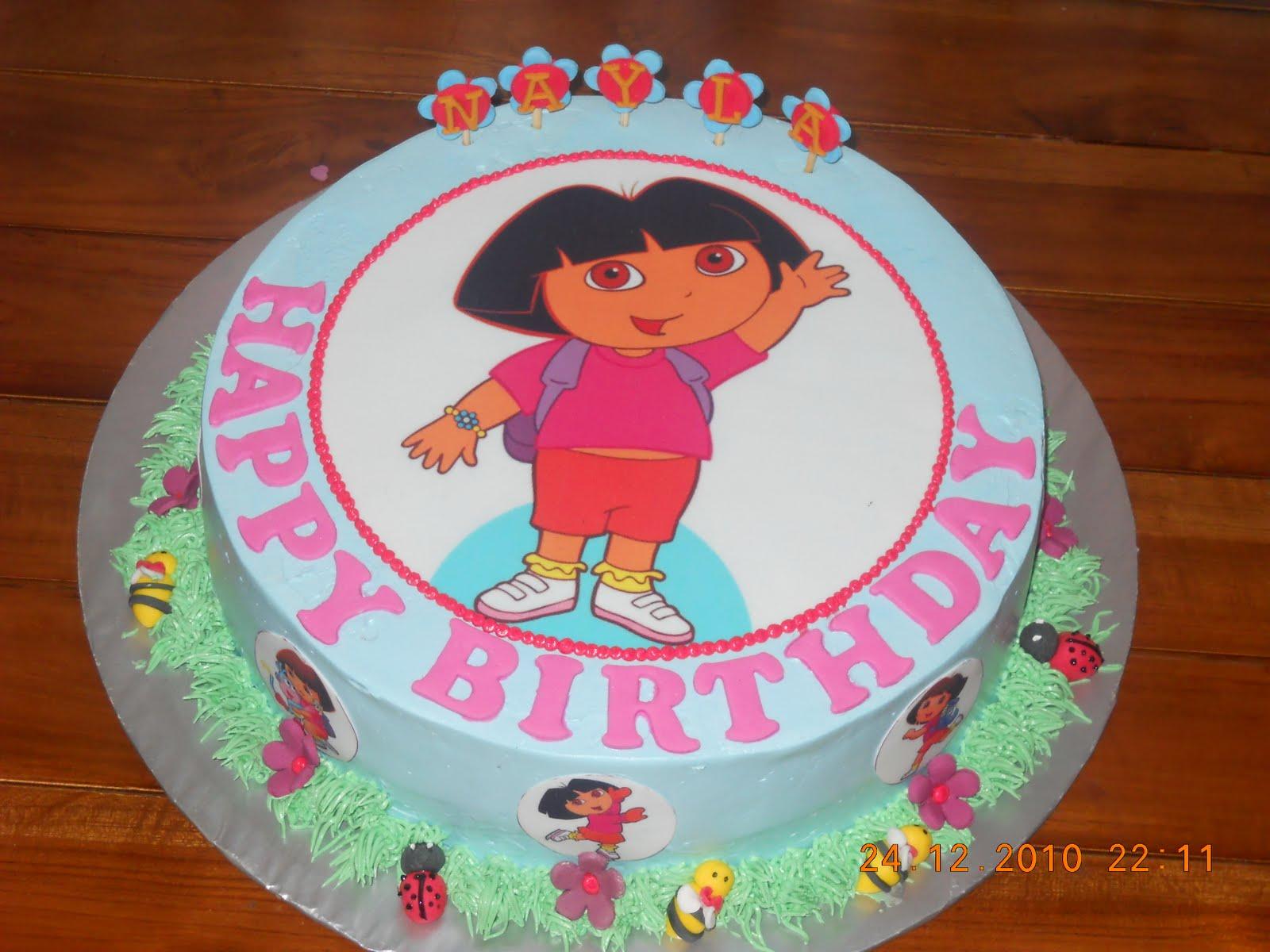 Cake Design Dora L Exploratrice : Gateau rigolo : 30 idees pour un anniversaire