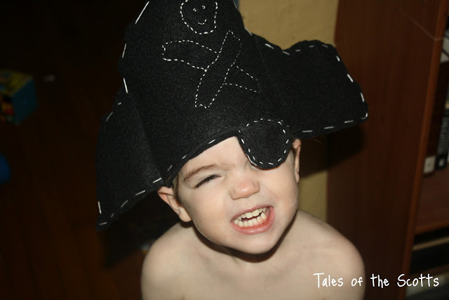 tutoriel chapeau de pirate