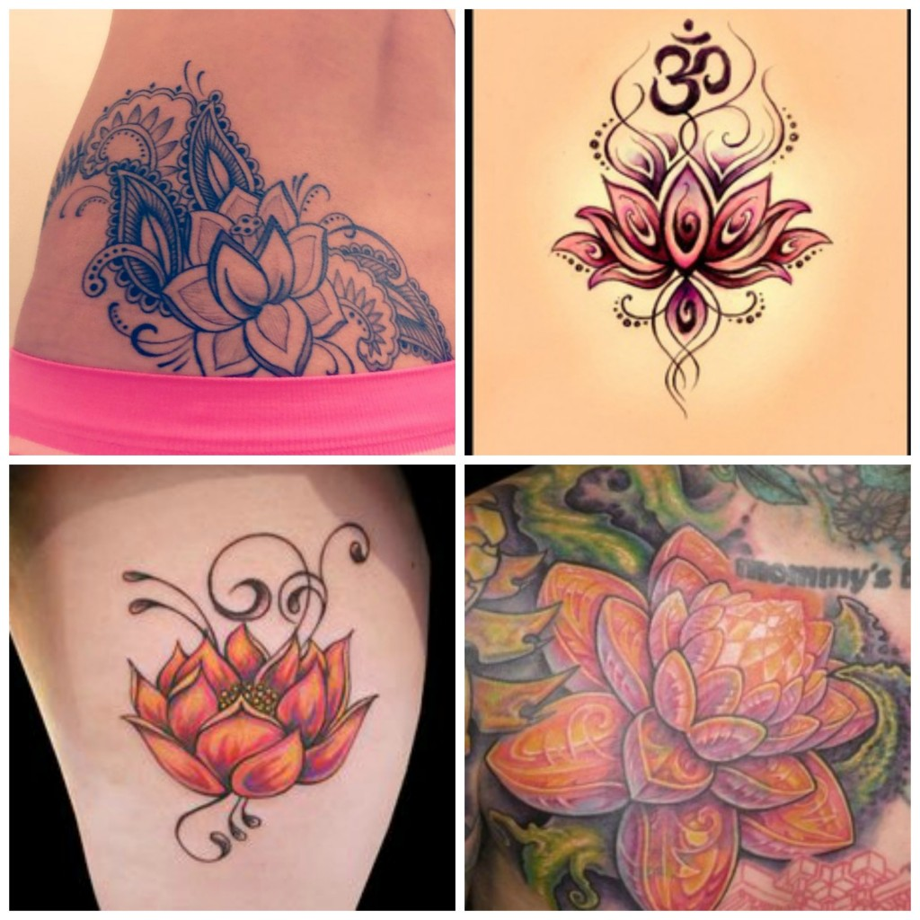 Tatouage Fleur De Lotus Amour Calme Purete Madame Web